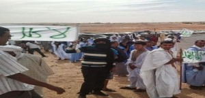 Unprecedented demonstrations in Tindouf camps