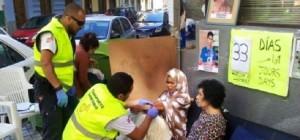 Western Sahara: Takbar Haddi teased by police in Las Palmas